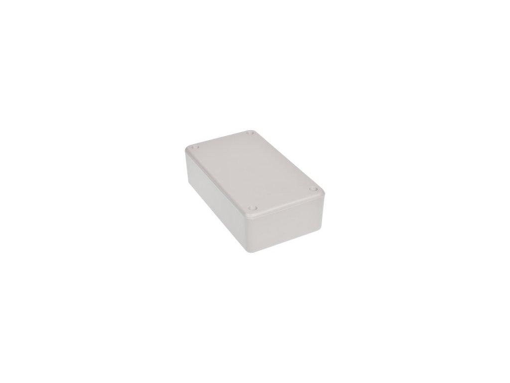 Plastová krabička Z77J, šedá