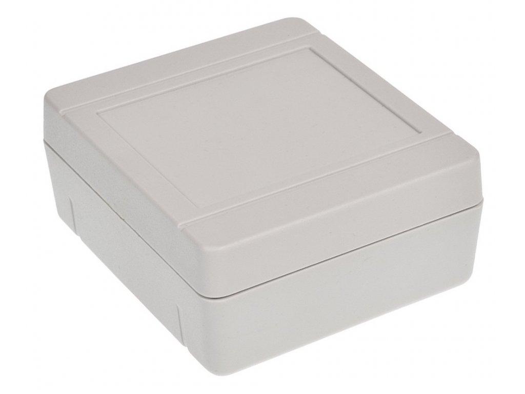 Plastová krabička Z79J, šedá