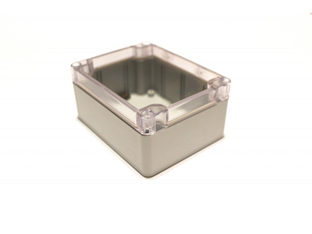 Plastová krabička BK212, průhledné víko