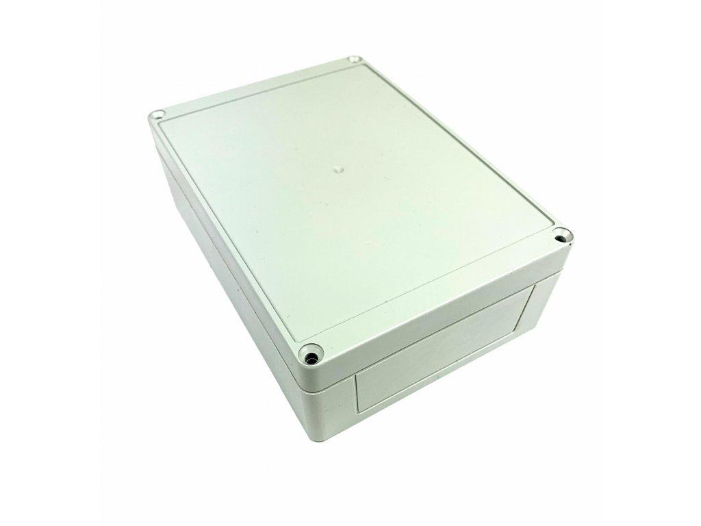 Plastová krabička BK214, šedá
