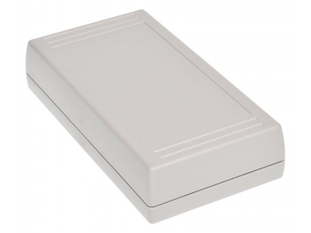 Plastová krabička Z93J, šedá