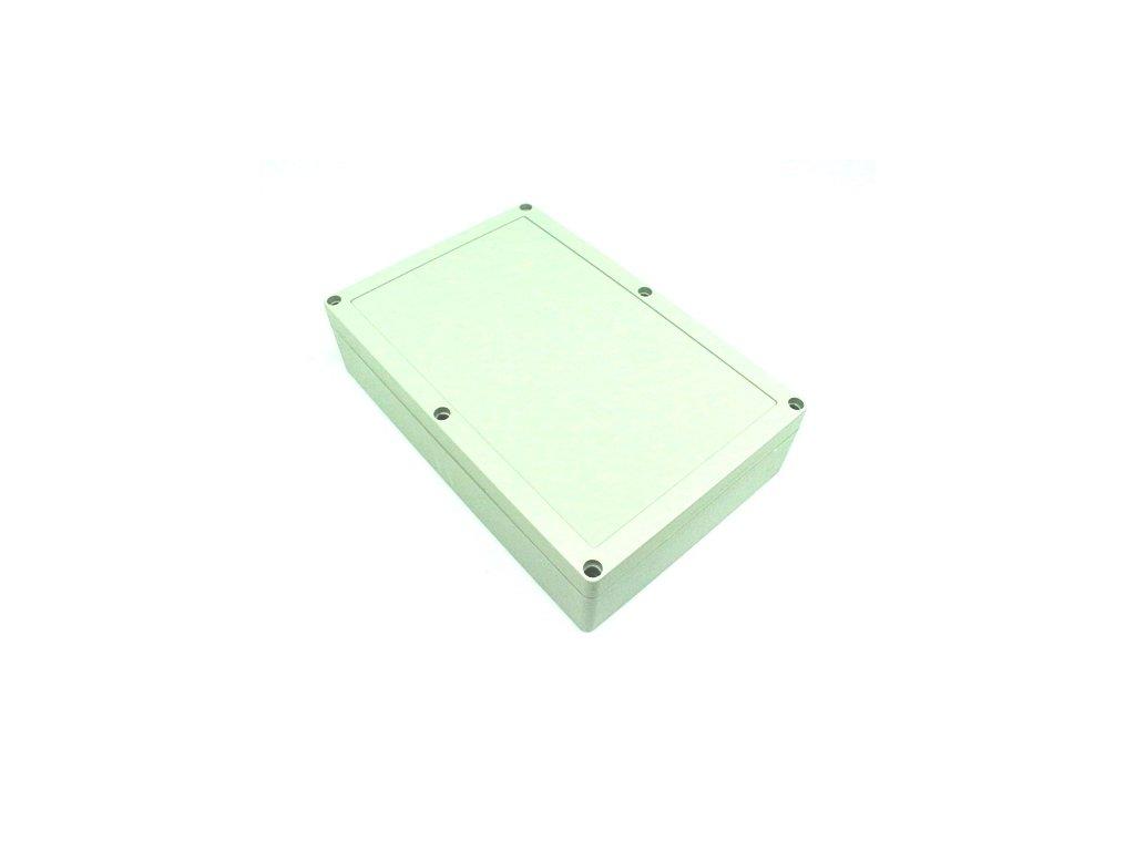 Plastová krabička BK218, šedá