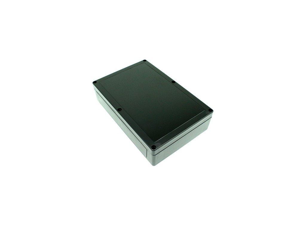 Plastová krabička BK218, černá