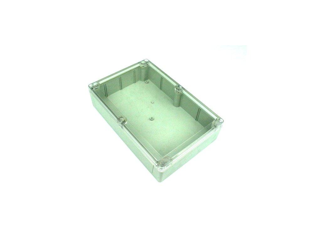 Plastová krabička BK218, průhledné víko