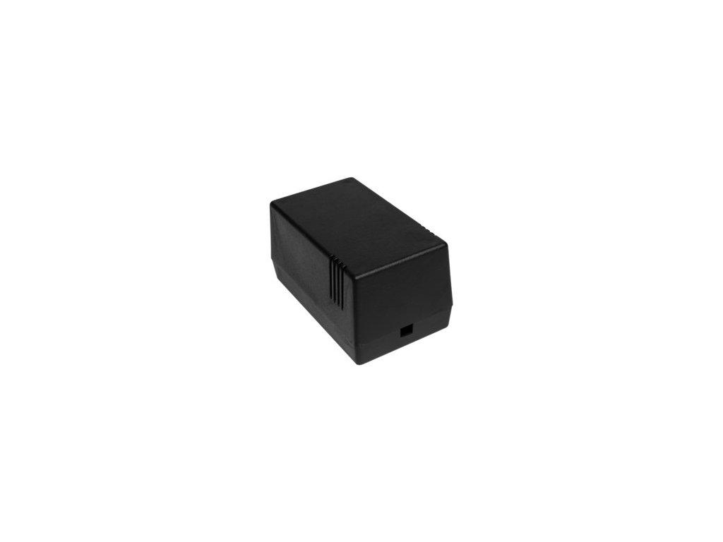 Plastová krabička Z16, černá