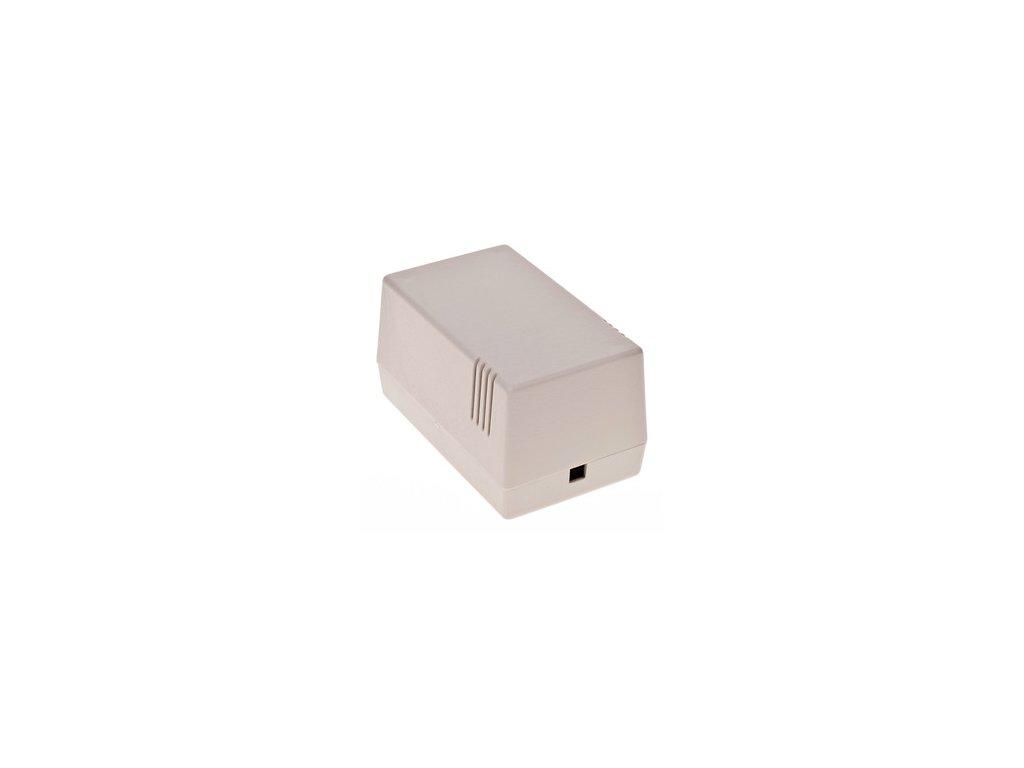 Plastová krabička Z16J, šedá
