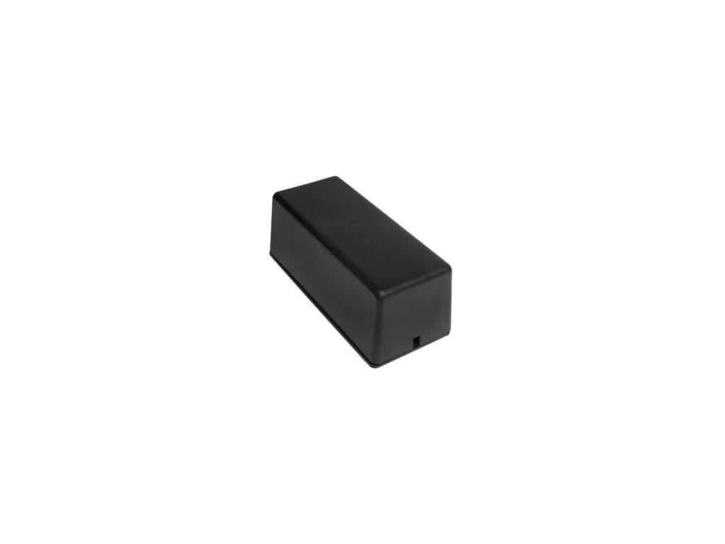 Plastová krabička Z18, černá