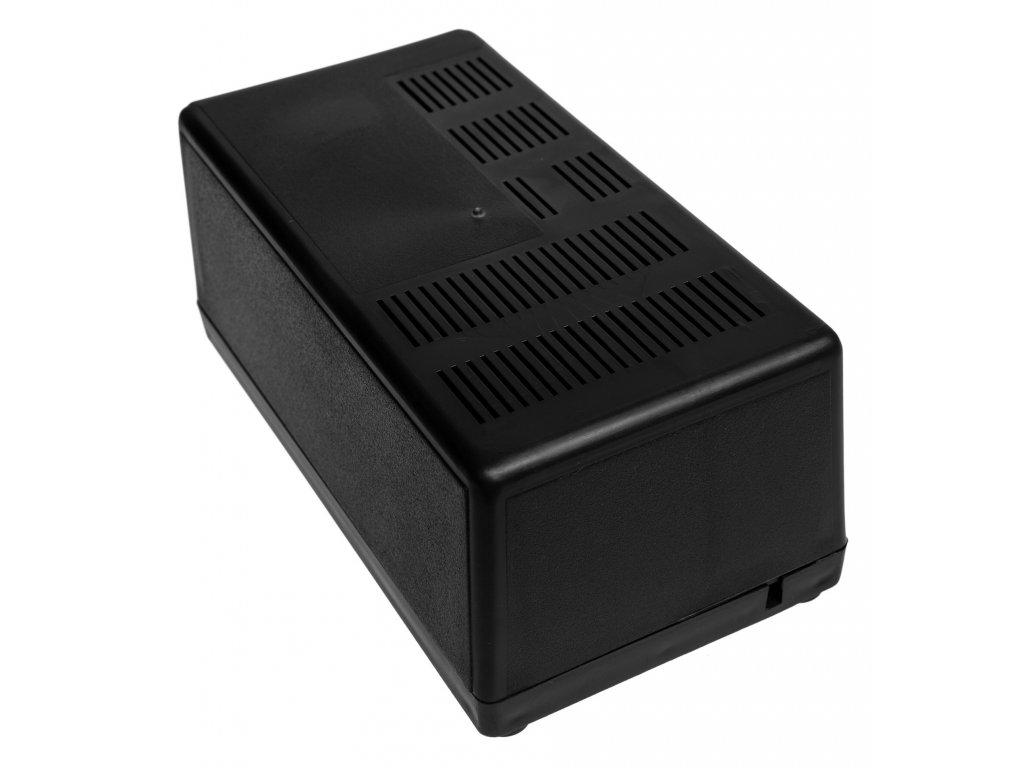 Plastová krabička Z40W, černá