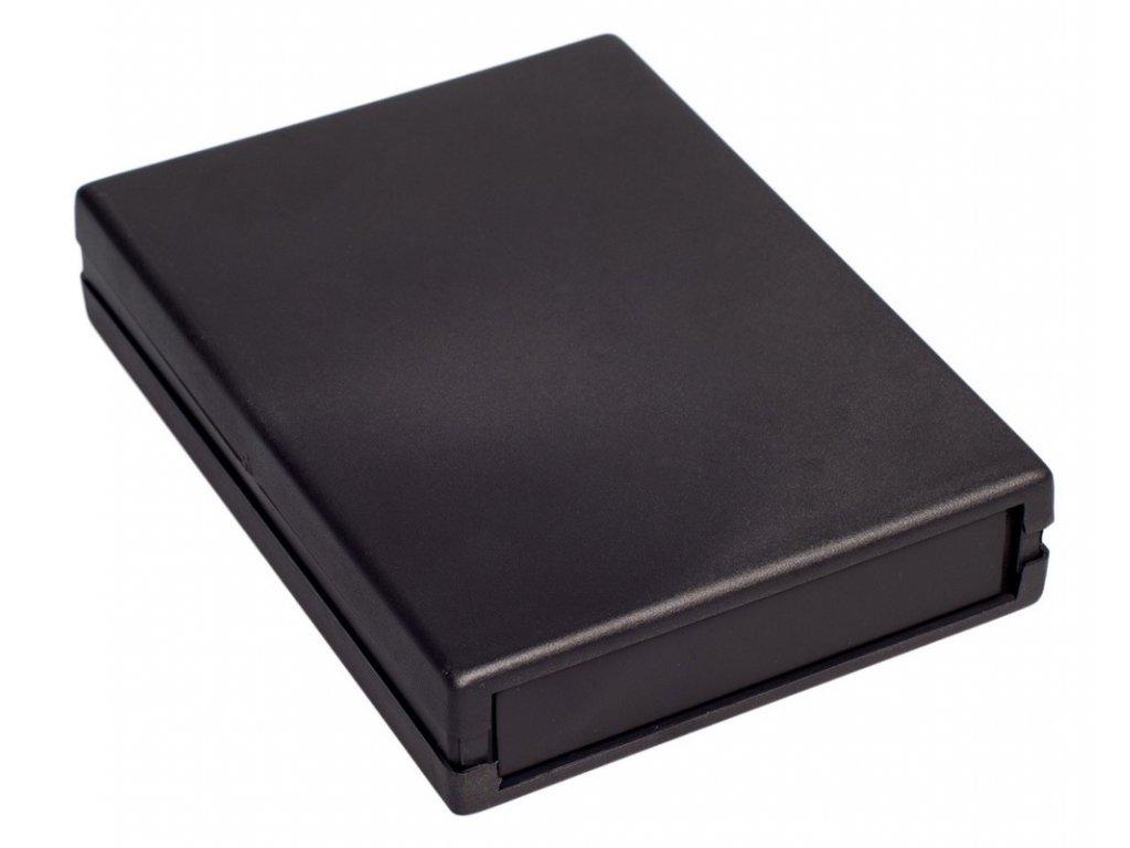 Plastová krabička Z19, černá