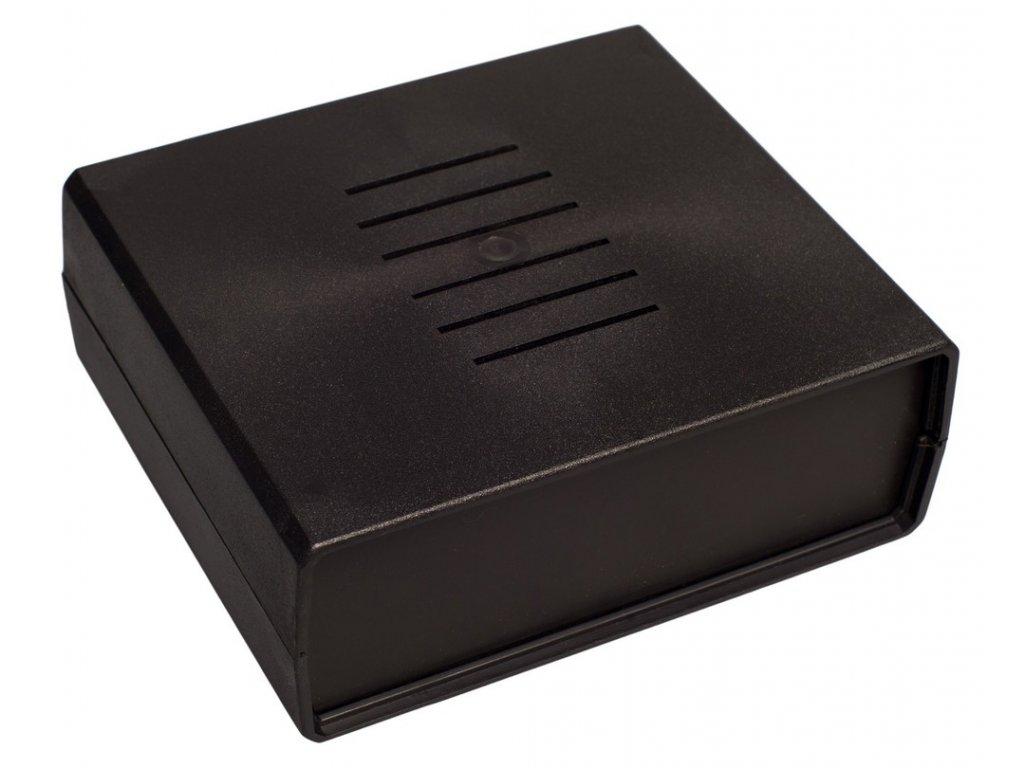 Plastová krabička Z4AW, černá