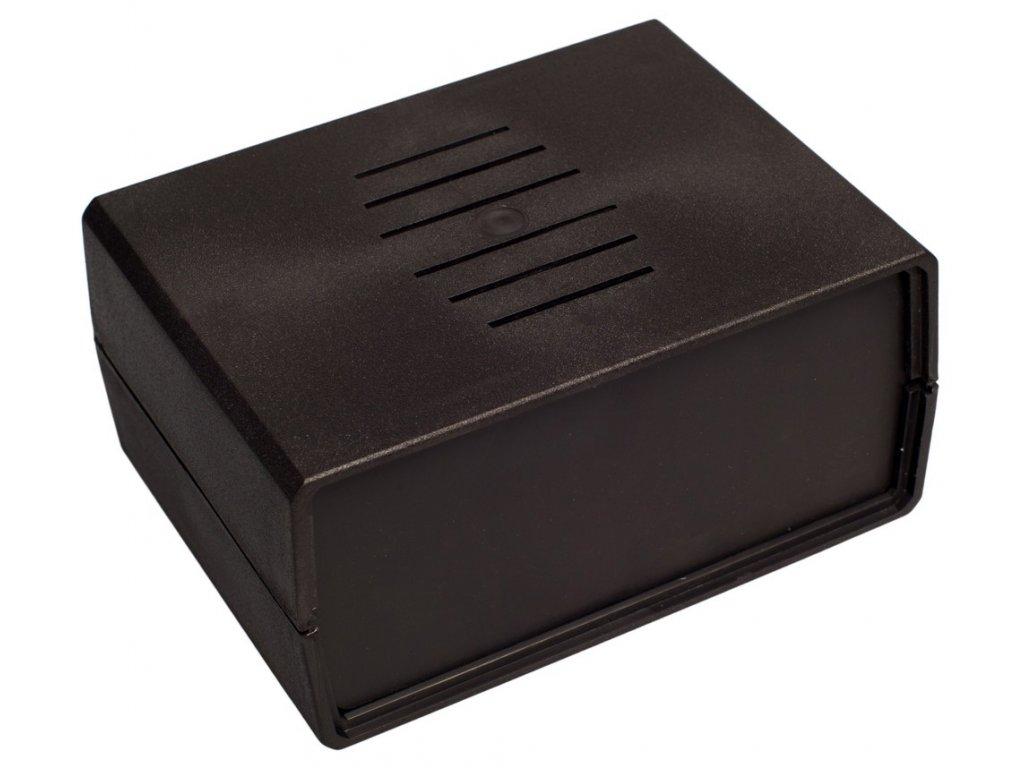 Plastová krabička Z3W, černá