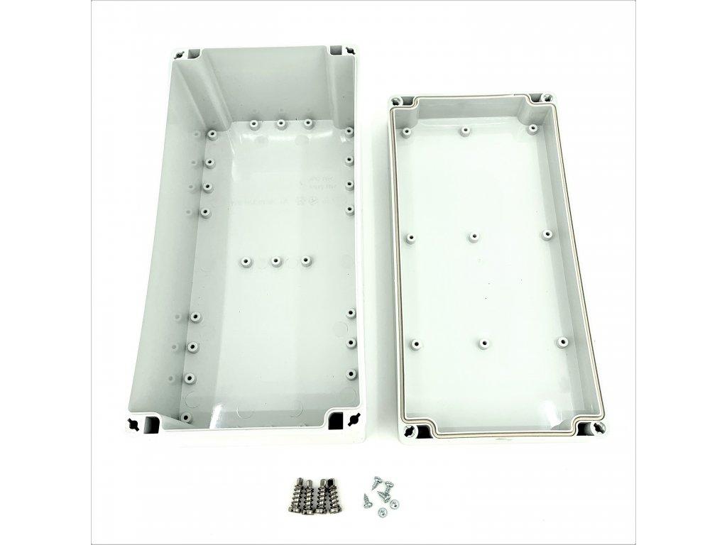 Plastová krabička BK230, šedá