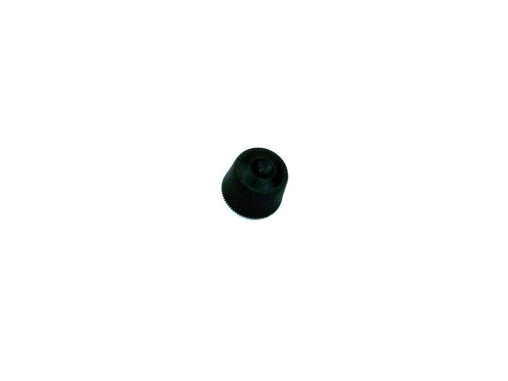 Knoflík 2, černý
