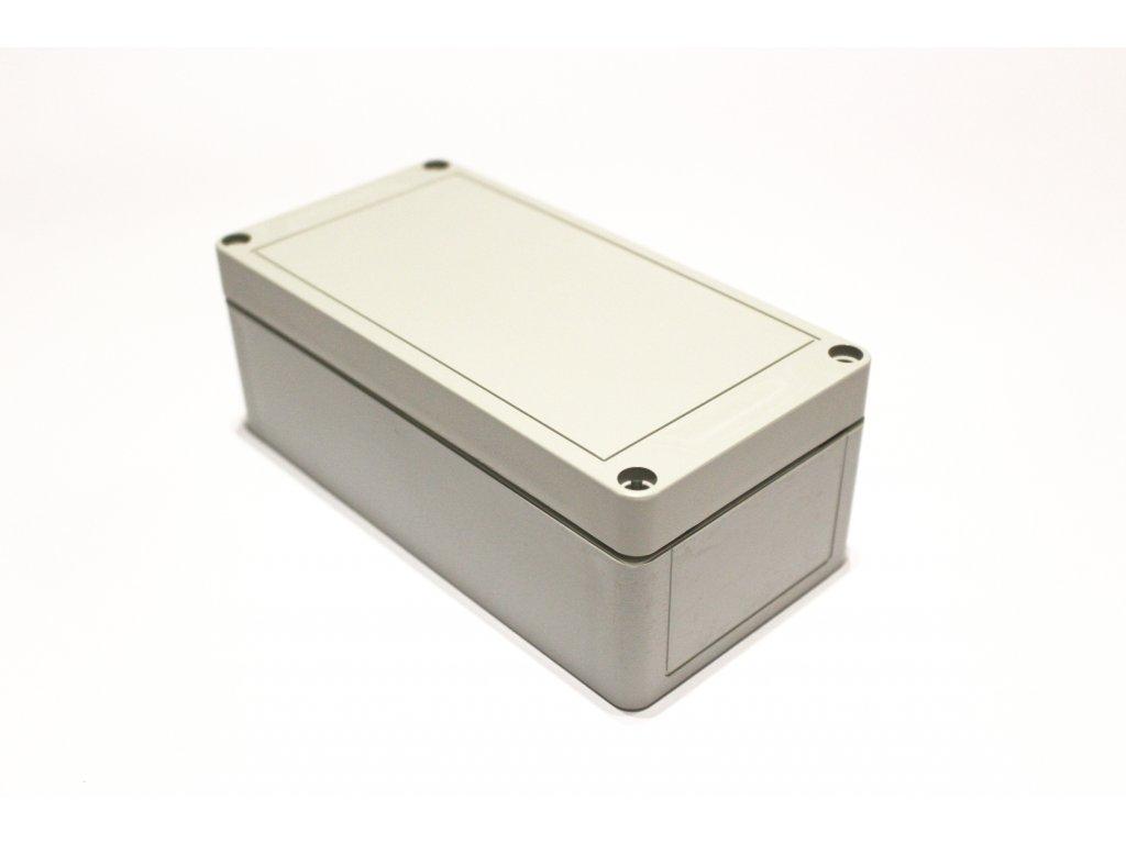 Plastová krabička BK258, šedá