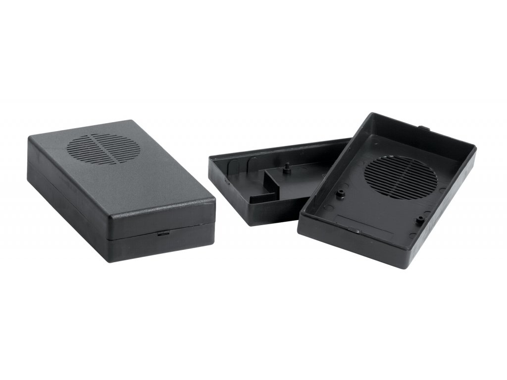 Plastová krabička KM37, černá