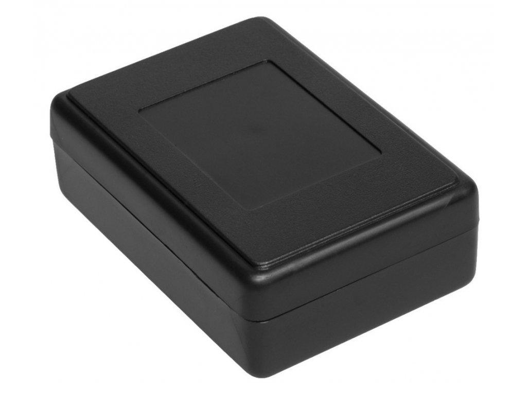 Plastová krabička Z23, černá