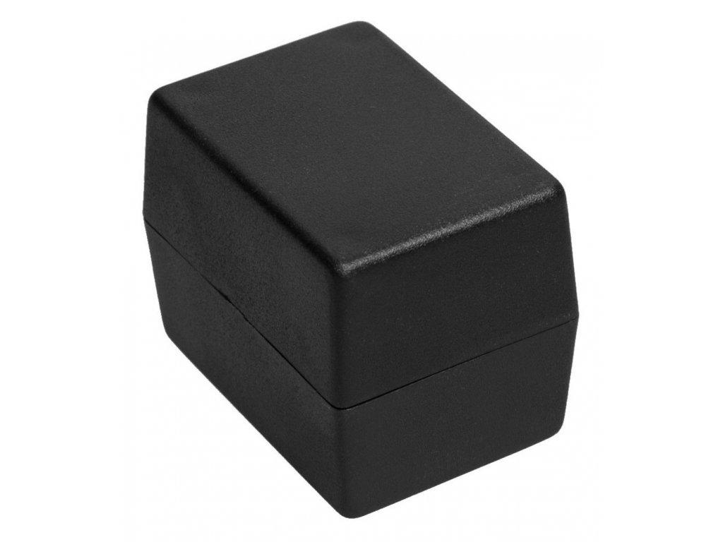 Plastová krabička Z24B, černá