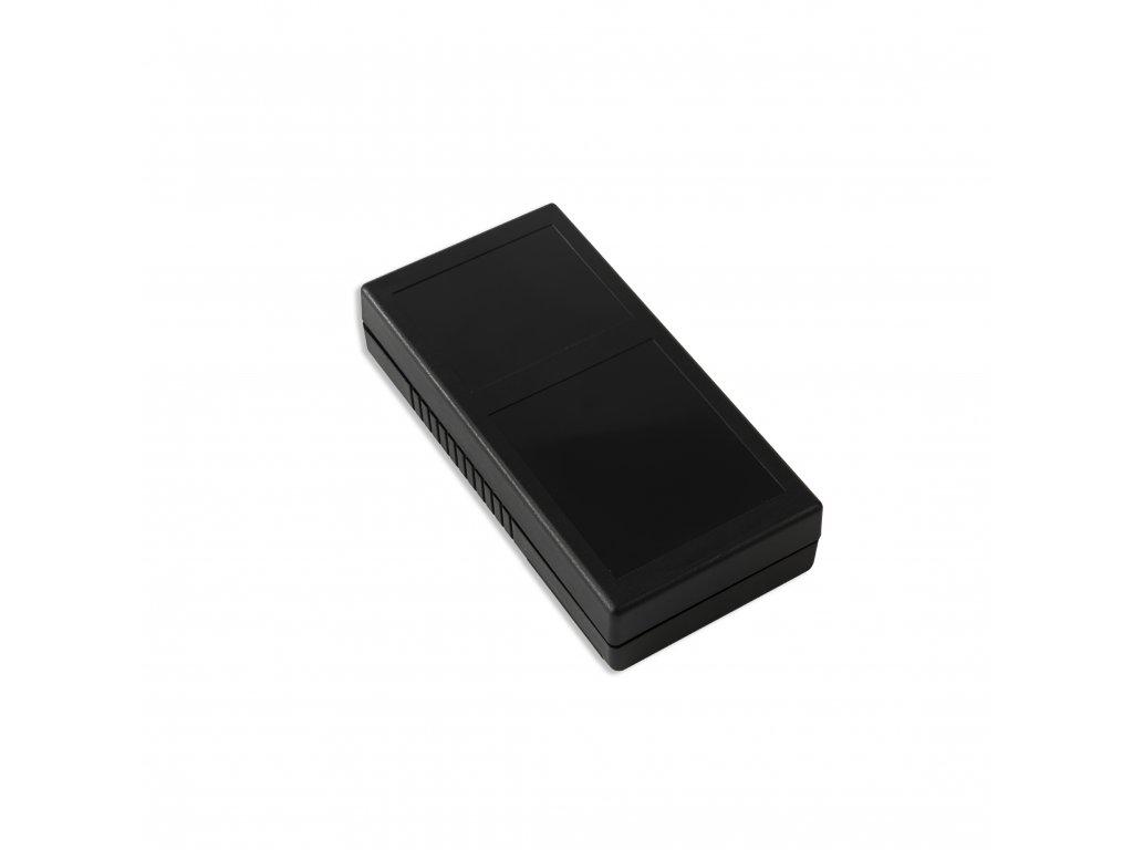 Plastová krabička KM103D, černá