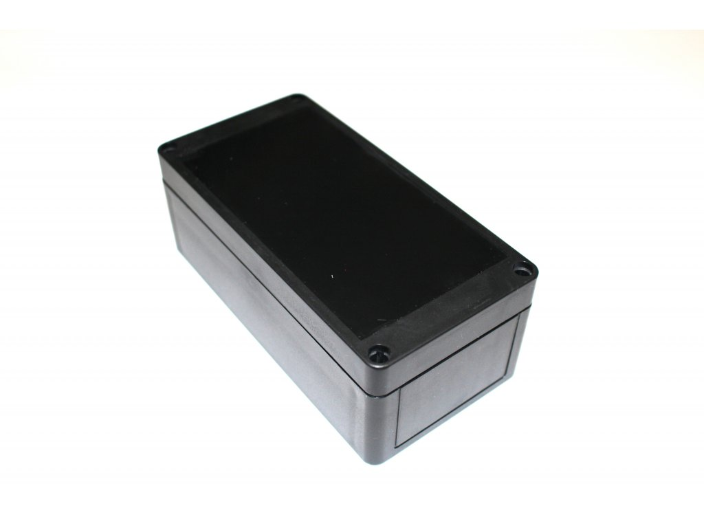 Plastová krabička BK258, černá