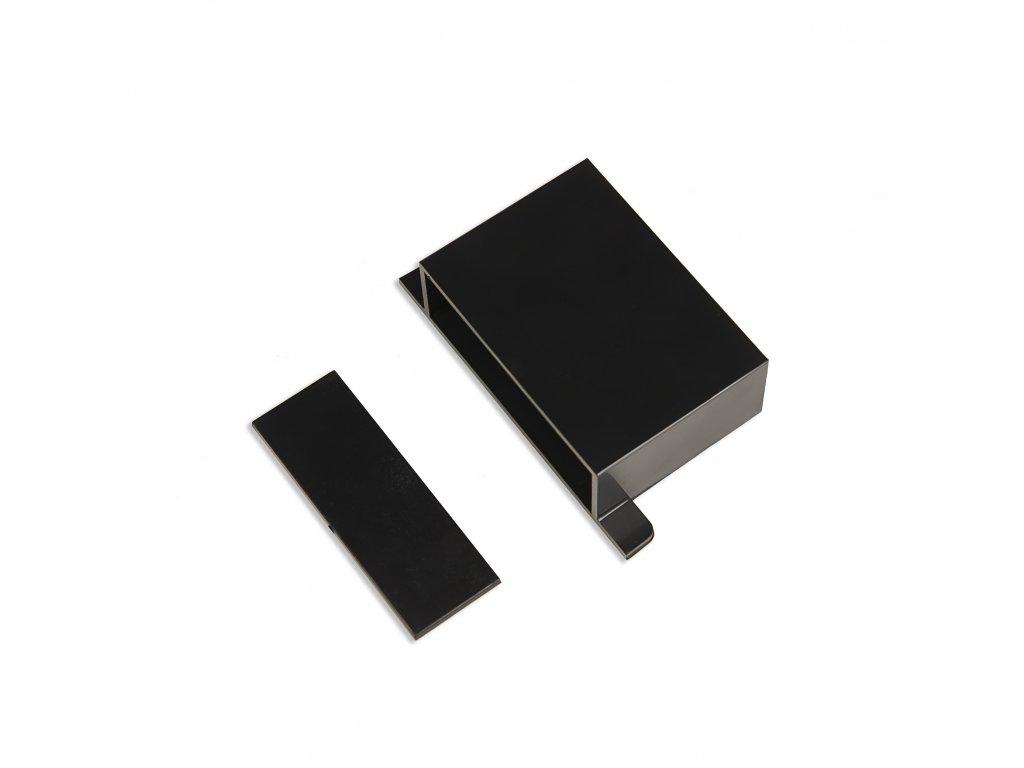 Plastová krabička KM25, černá