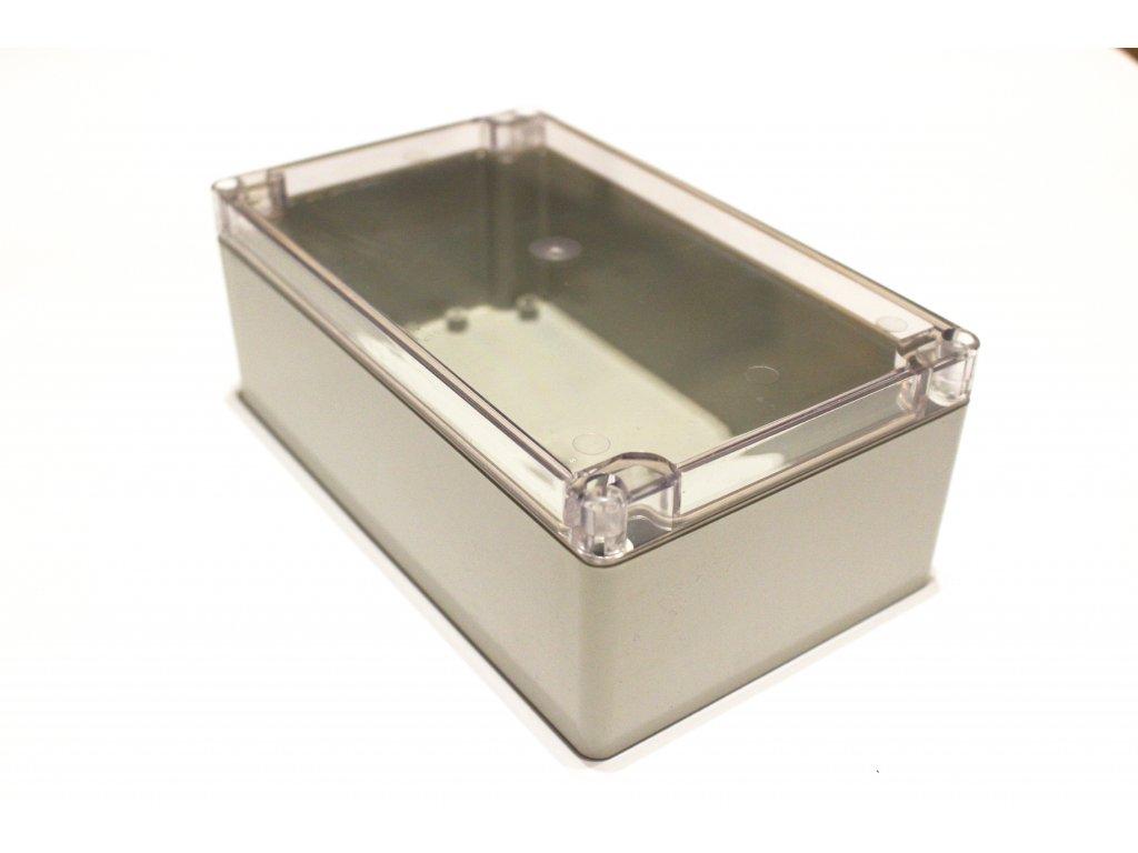 Plastová krabička BK269, průhledné víko