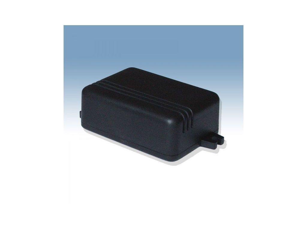 Plastová krabička KM86, černá