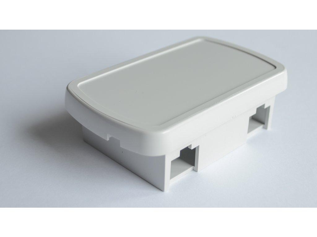Plastová krabička U115, šedá