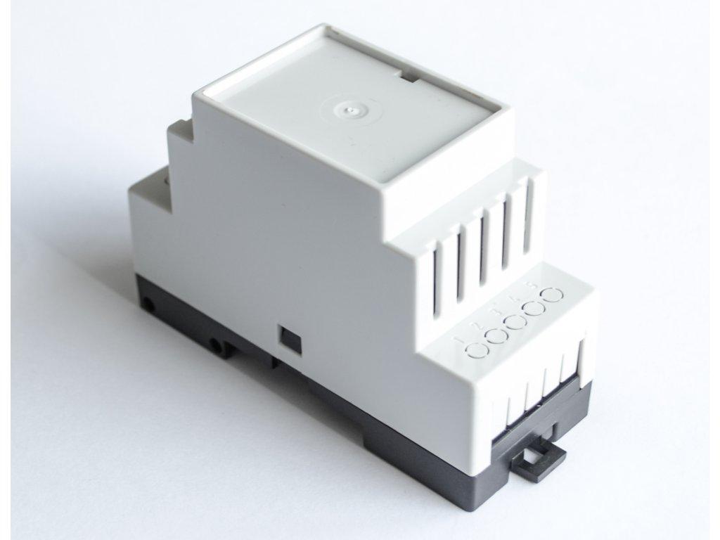 Plastová krabička BKDIN350 KO/V