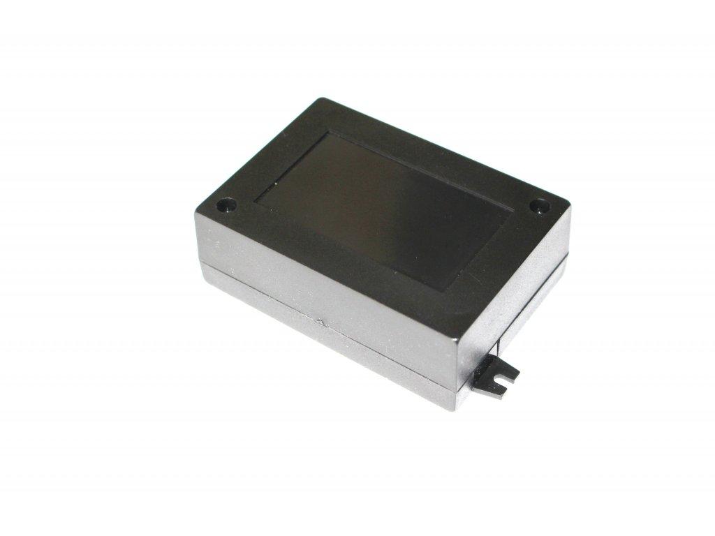 Plastová krabička KM65, černá
