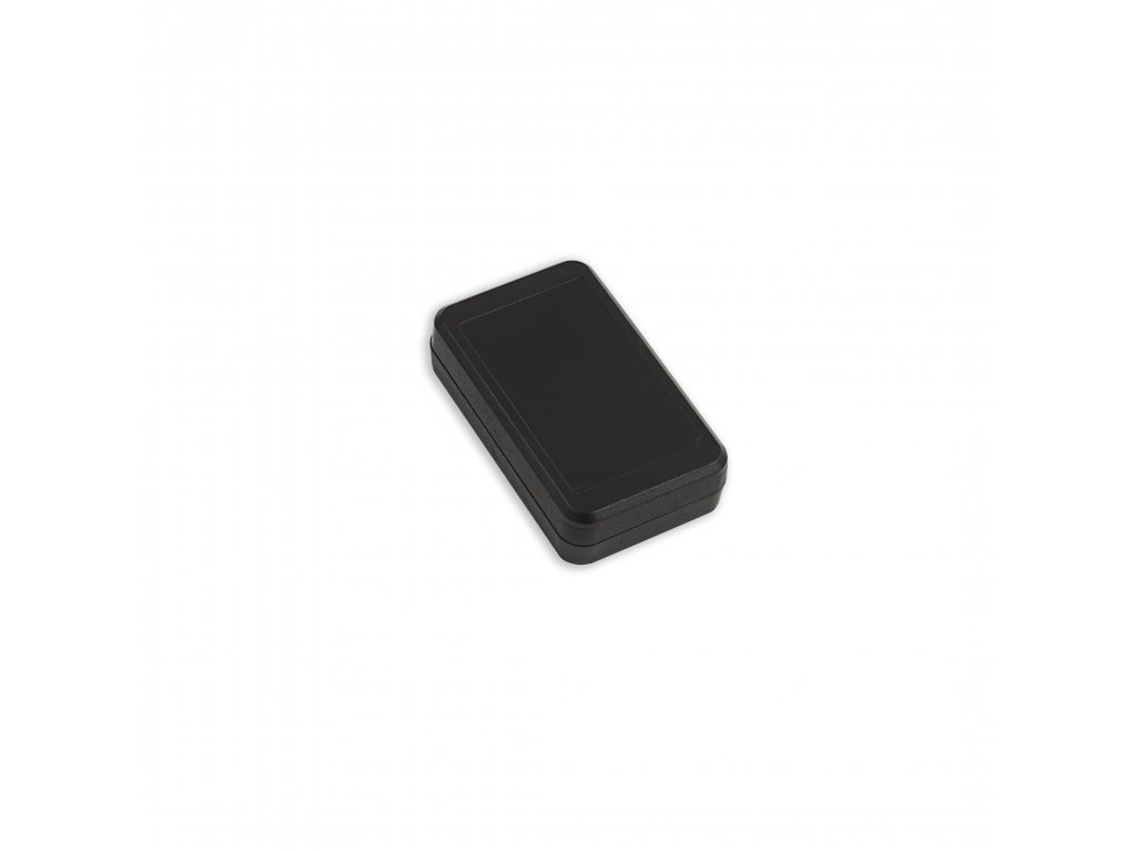 Plastová krabička KM10A, černá