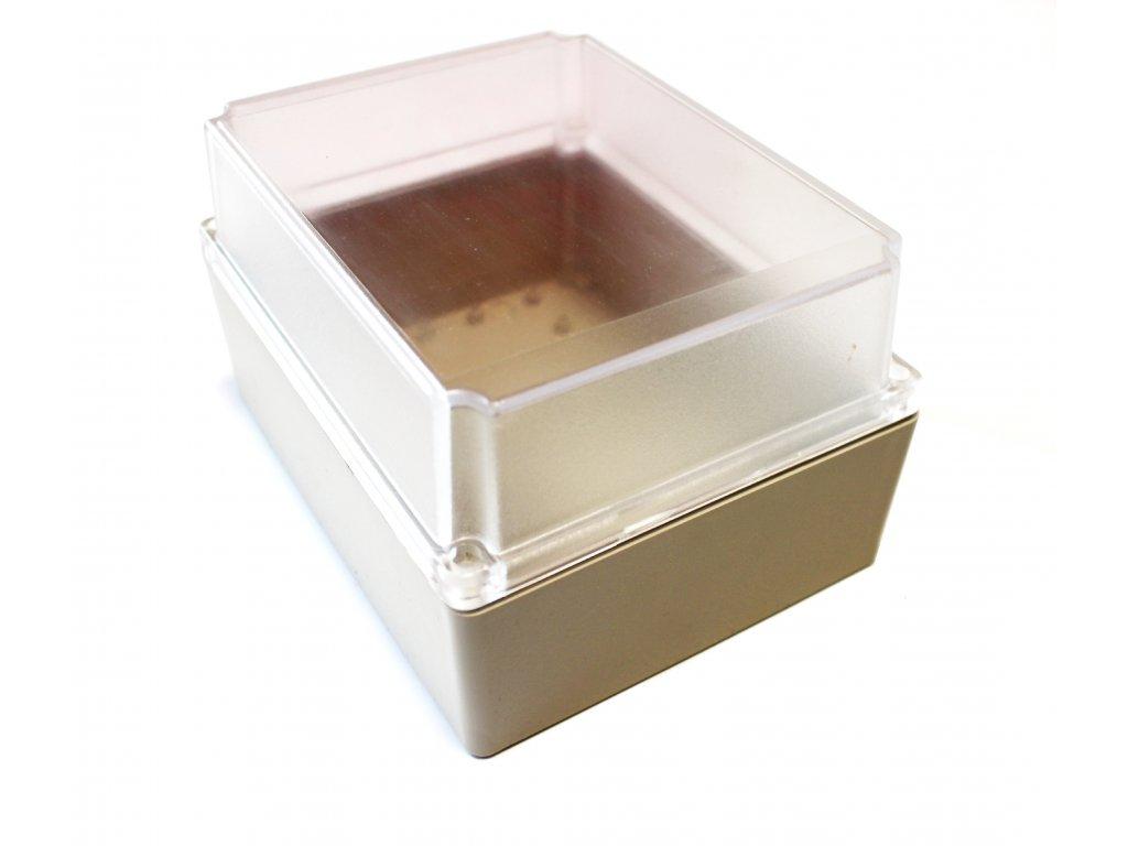 Plastová krabička BK1381,průhledné víko