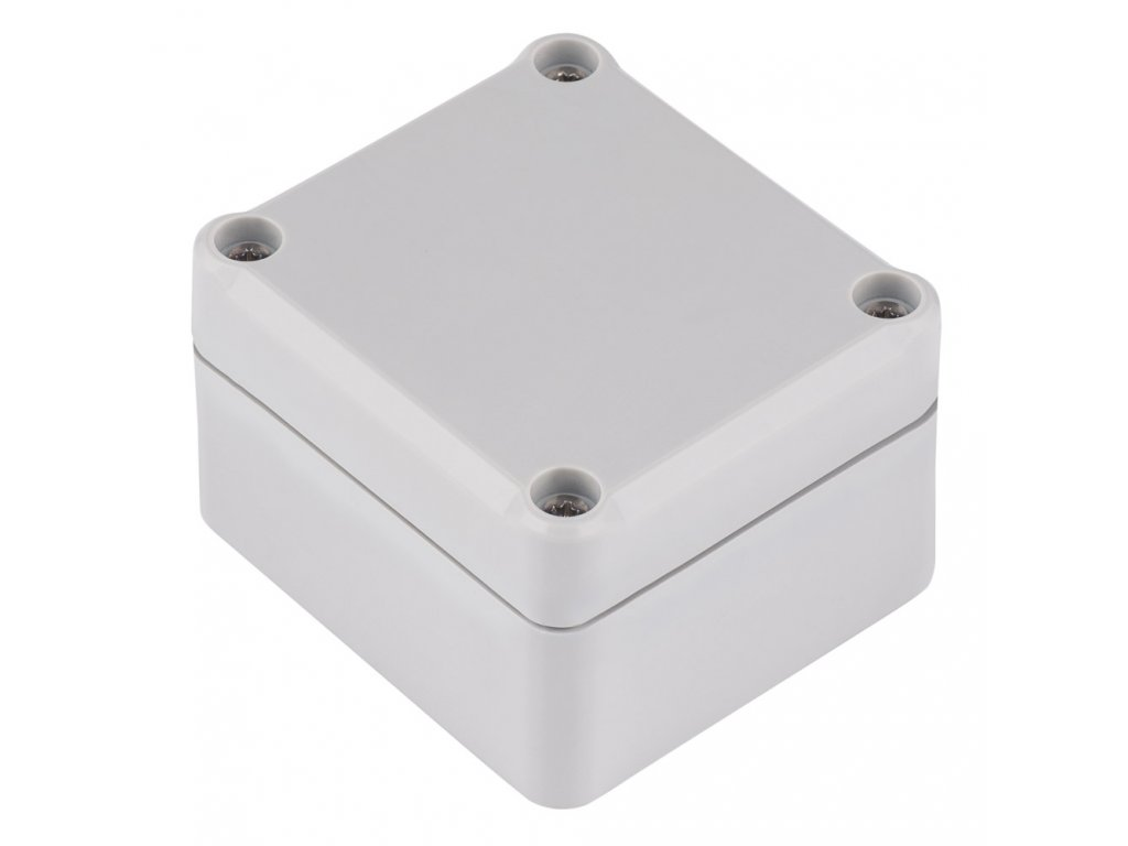 Plastová krabička Z117J, šedá