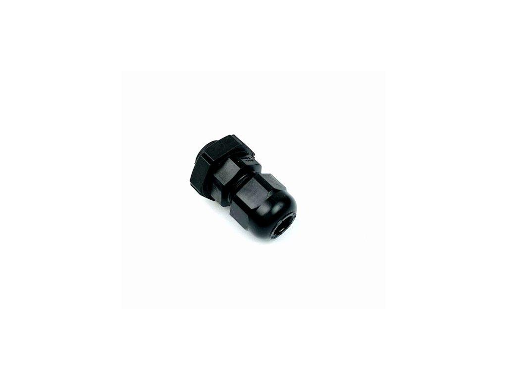 Kabelová průchodka PG7, černá