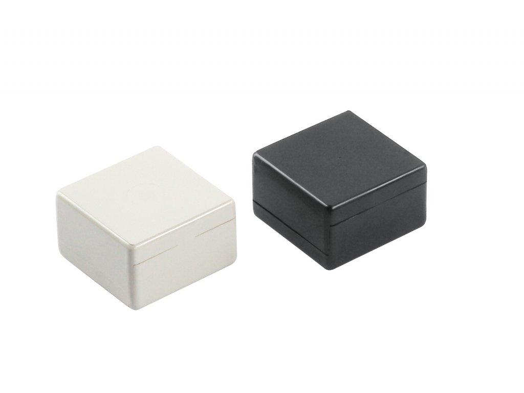 Plastová krabička BK505030, černá