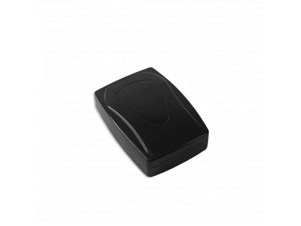 Plastová krabička KM108, černá