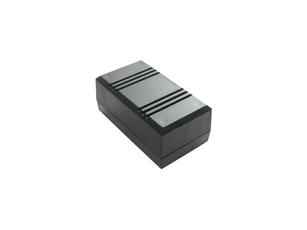 Plastová krabička Z45W, černá