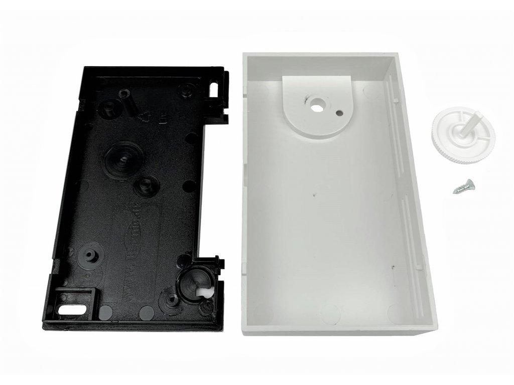 Plastová krabička BK600, bílá