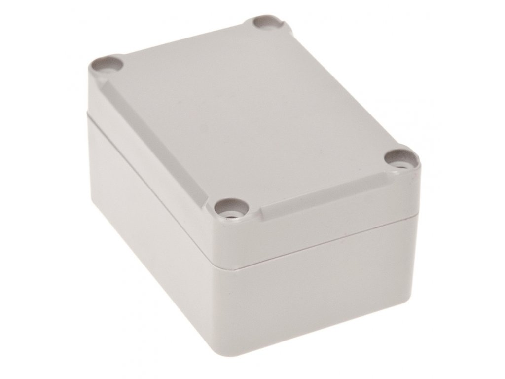 Plastová krabička Z96JH, šedá