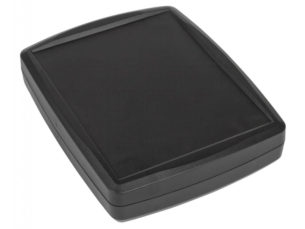 Plastová krabička Z124H, černá