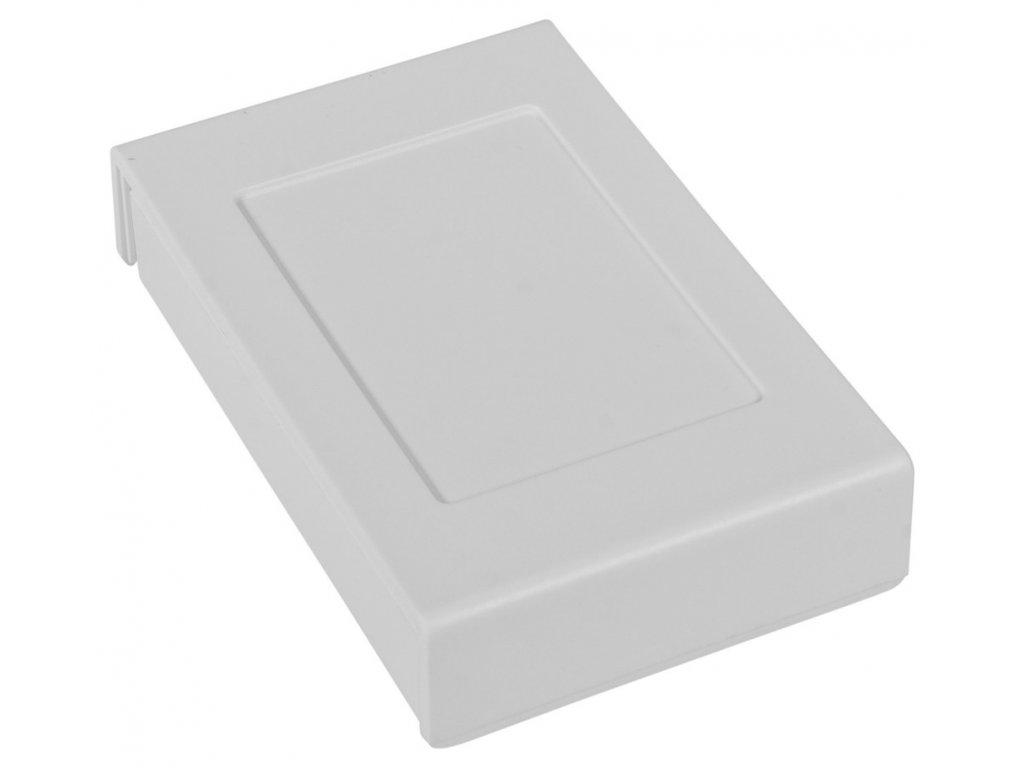 Plastová krabička Z122b, bílá