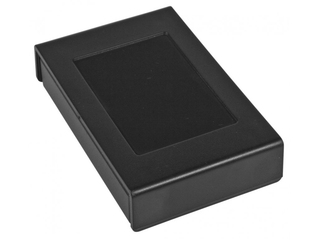 Plastová krabička Z122, černá