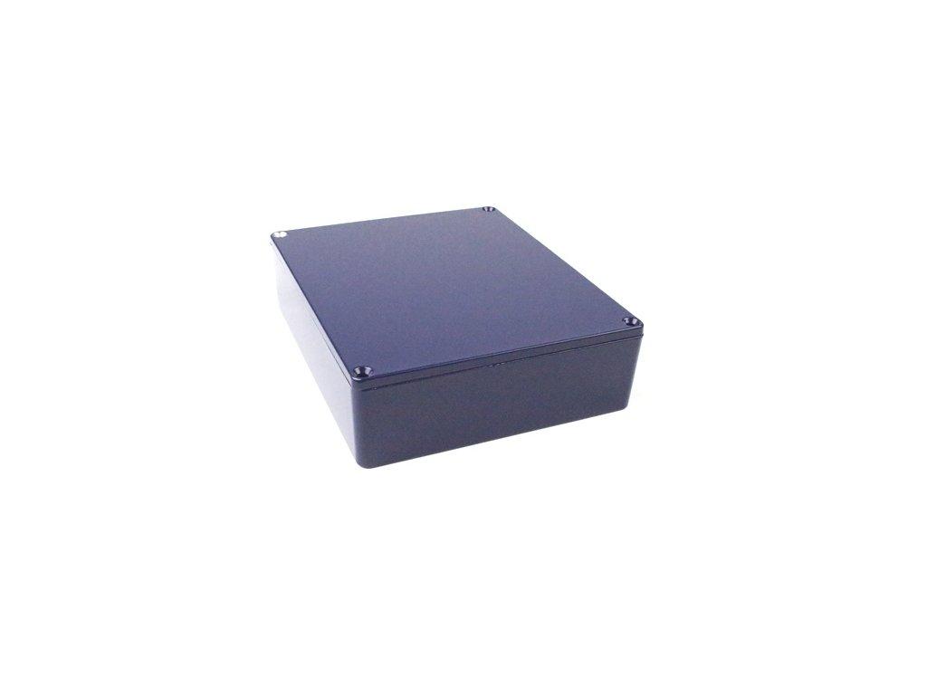 Hliníková krabička AL1598B, modrá