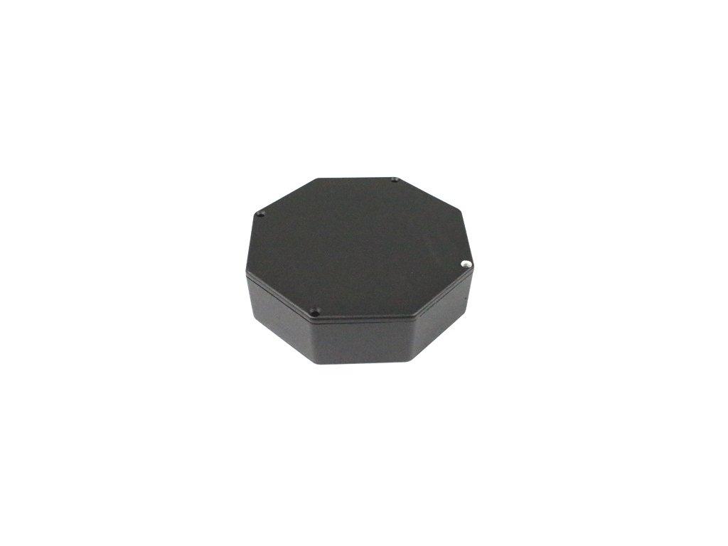 Hliníková krabička AL1607C, černá