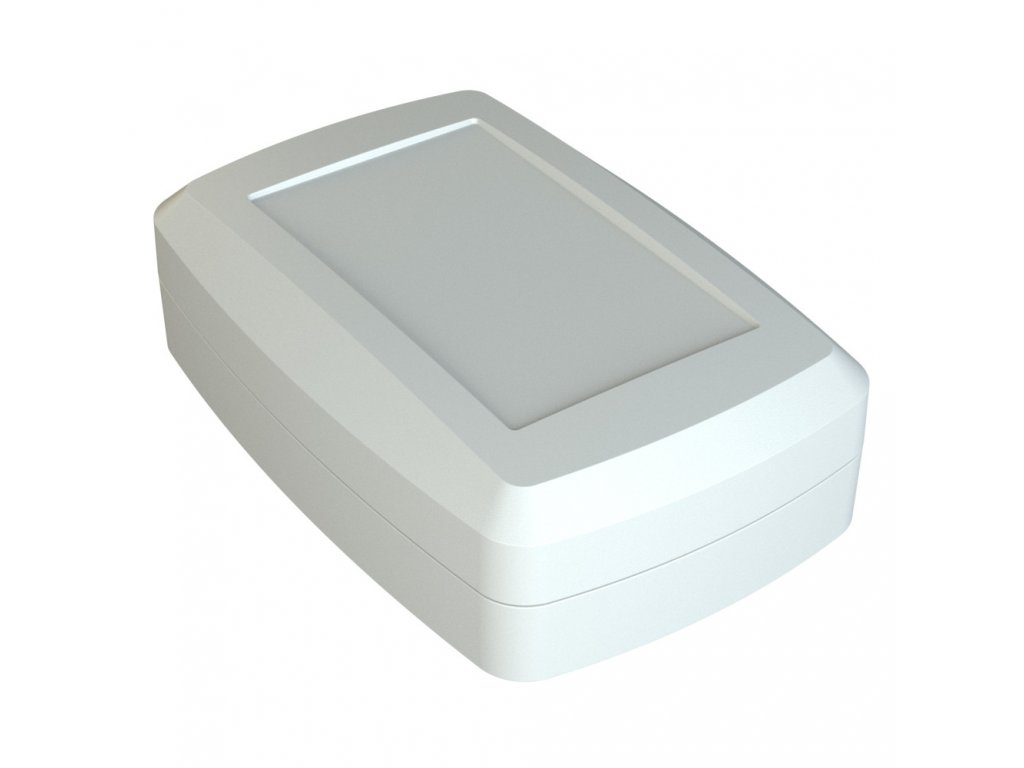 Plastová krabička Z126b, bílá