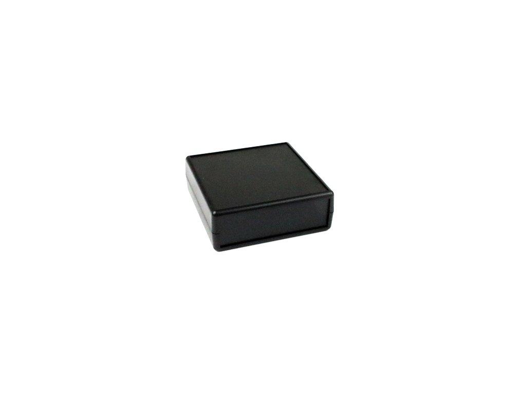 Plastová krabička HM1593ARBK, černá
