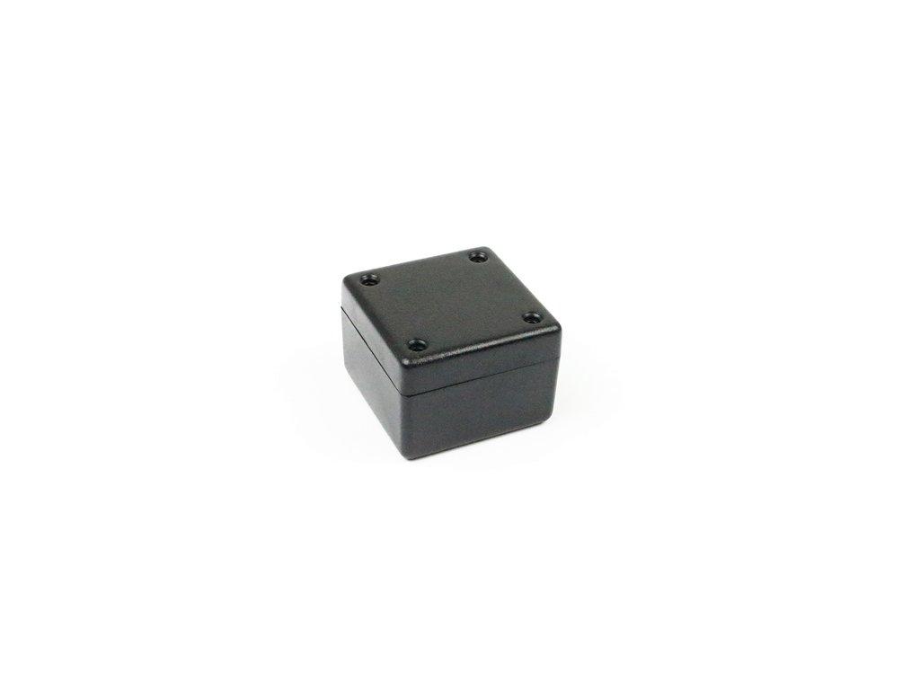 Plastová krabička HM1594ASBK, černá