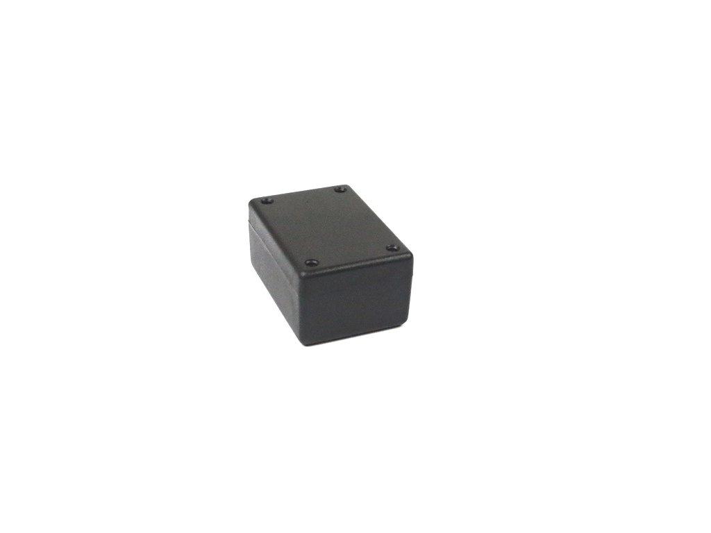 Plastová krabička HM1594BSBK, černá