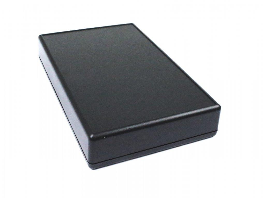 Plastová krabička HM1599KBK, černá