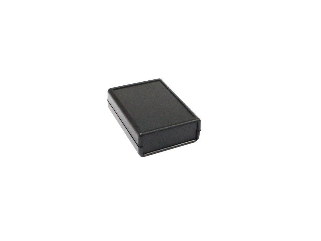 Plastová krabička HM1593D, černá