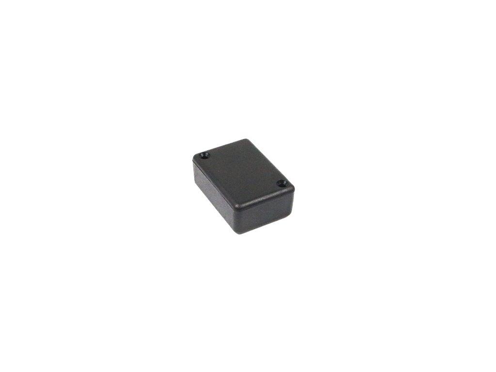 Plastová krabička HM1551A, černá